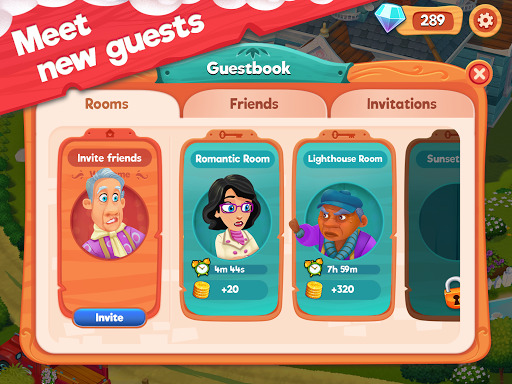 Delicious B&B: Match 3 game & Interactive story 1.15.6 screenshots 12