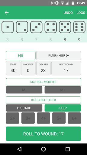 Xd6 - Dice Roller 1.0.8.2 screenshots 3