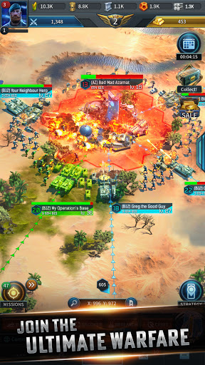 Instant War - Real-time MMO strategy game apkmr screenshots 2