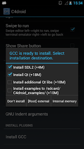 GCC plugin for C4droid 10.2.0 Mod + Data for Android 1