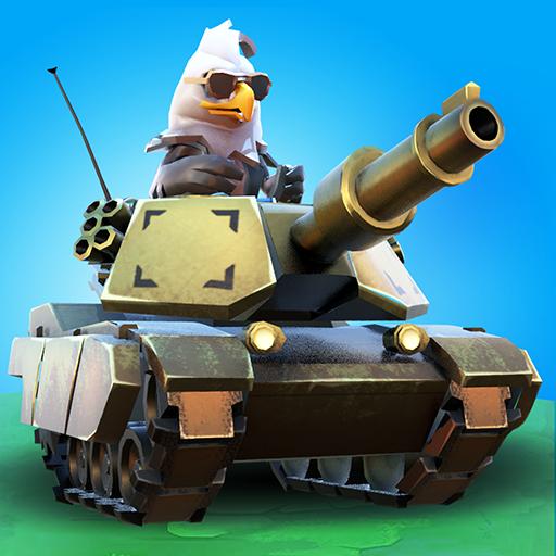 PvPets: Tank Battle Royale Games