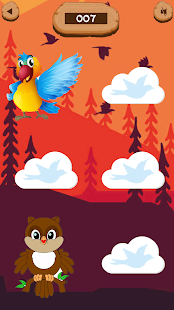 Memory matching games for kids free - Birds