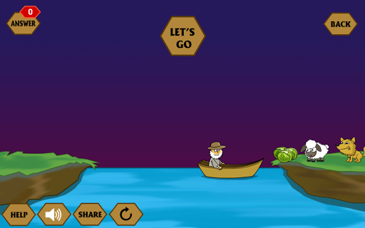 River Crossing IQ - IQ Test  screenshots 1