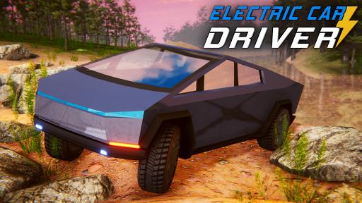 Electric Car Simulator: Tesla Driving 1.4 screenshots 2