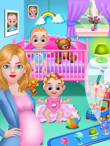 Mom & newborn babyshower - Babysitter Game  screenshots 13