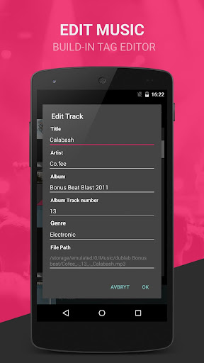 BlackPlayer Free Music Player screenshot 6
