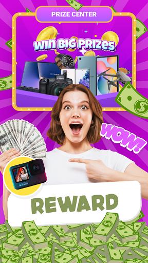 Lucky Town: Merge & Win ud83dudcb0 screenshots 1