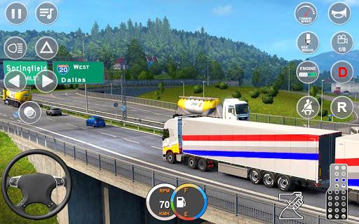 Indian Mountain Heavy Cargo Truck : Euro Truck Sim android2mod screenshots 17