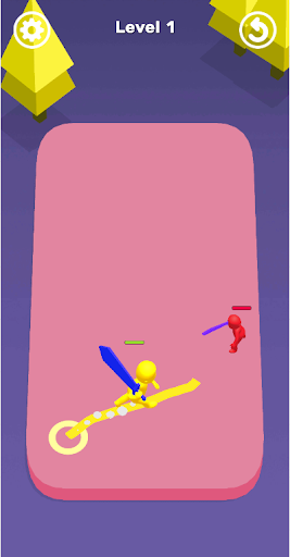 draw clash: one man army 3d screenshot 1