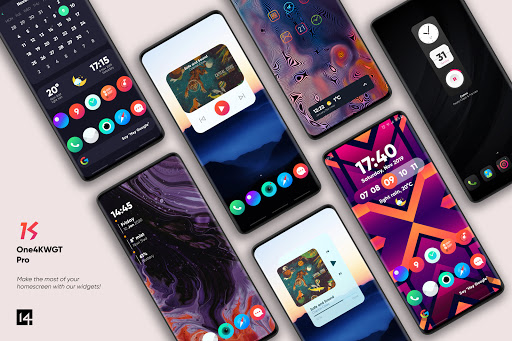 Download APK: One4KWGT Pro – widgets for KWGT v3.2 [Patched]