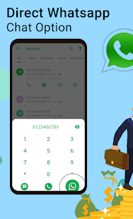 WhatsSave: Auto Save Number, Export WhatsApp Cont.
