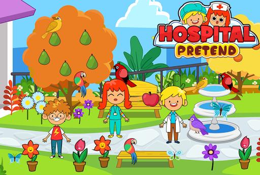 My Pretend Hospital - Kids Hospital Town Life apkpoly screenshots 4