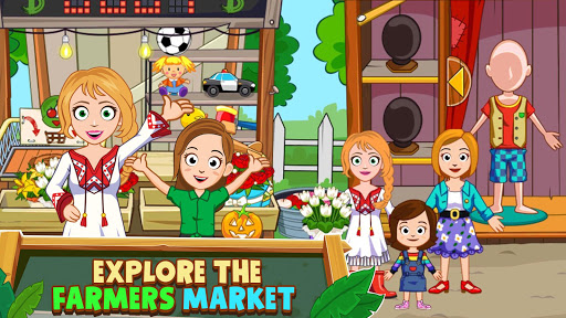 My Town : Farm Life Animals Game  for Kids Free 1.07 screenshots 3