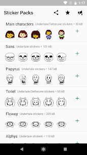 UNDERTALE and DELTARUNE stickers For Pc (Download On Windows 7/8/10/ And Mac) 1