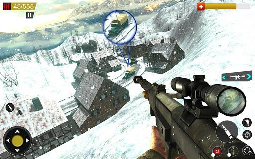 American World War Fps Shooter Free Shooting Games  screenshots 1