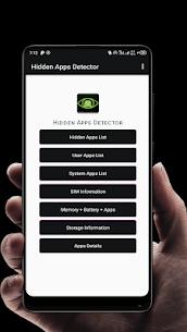 Hidden Apps Finder- Spy Apps Detector APK 1