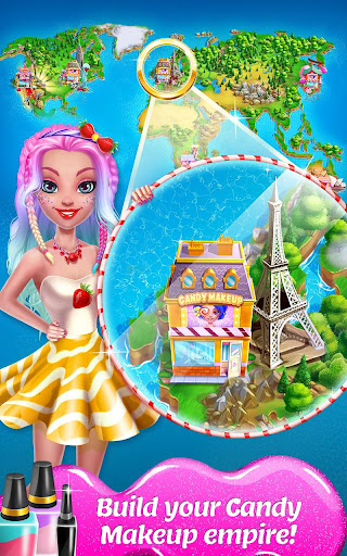 Candy Makeup Beauty Game - Sweet Salon Makeover 1.1.8 screenshots 5