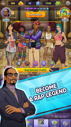 Snoop Dogg's Rap Empire screenshots 4