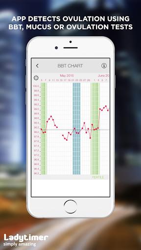 Ladytimer Ovulation & Period Calendar android2mod screenshots 3