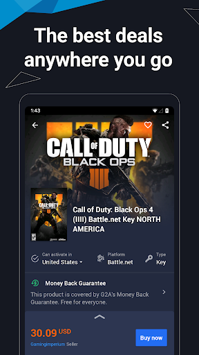 G2A - Games, Gift Cards & More 3.5.1 Screenshots 1
