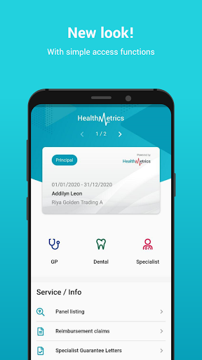 HealthMetrics Employee App 134.4.7 Screenshots 1