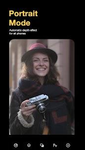 Mejores retratos modo retrato editor de desenfoque 1