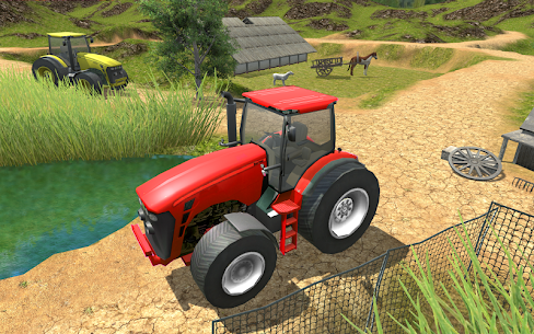 Village Tractor Driver 3D Farming Game 4