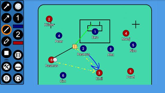 Floorball Tactic Board