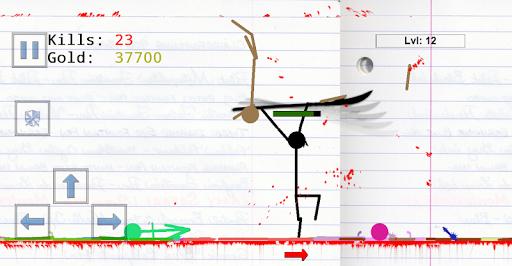 Stickman Physics Battle Arena  screenshots 4
