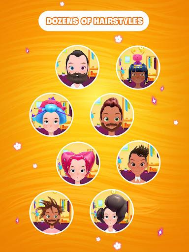 Hair salon games : Hair styles and Hairdresser apkdebit screenshots 8