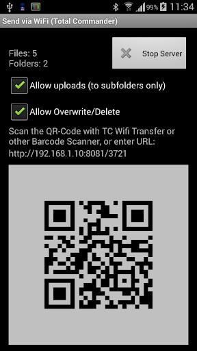 WiFi/WLAN Plugin for Totalcmd screenshots 1