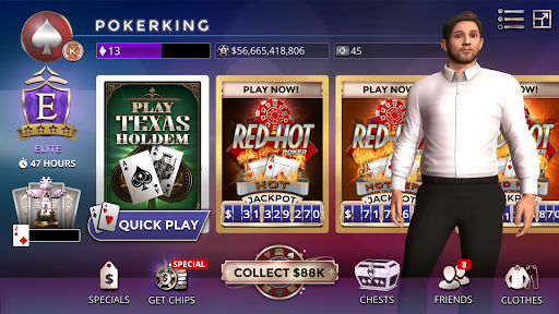 CasinoLife Poker - #1 Free Texas Holdem 3D 4.9.16598 screenshots 1