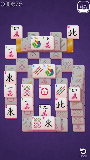 Gold Mahjong FRVR - The Shanghai Solitaire Puzzle screenshots 1