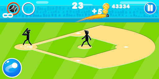 Stickman Baseball 1.9 screenshots 2