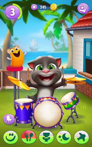 Mon Talking Tom 2 screenshots apk mod 5