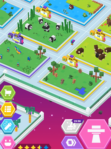 Idle Star Zoo: Universe Animals Merge Tycoon  screenshots 5