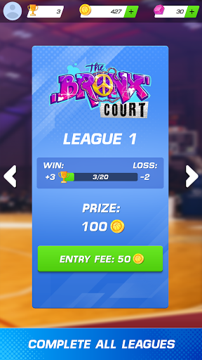 Basketball Clash: Slam Dunk Battle 2K'20 1.2.2 screenshots 11