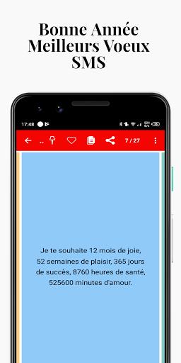 Bonne Annu00e9e Meilleurs Voeux SMS  Screenshots 6