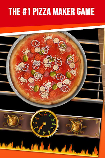 Pizza jeu - Pizza Maker Game captures d'écran apk mod pirater preuve 1