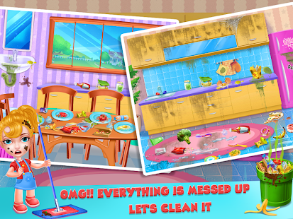 Keep Your House Clean - Girls Home Cleanup Game 1.2.60 Screenshots 19