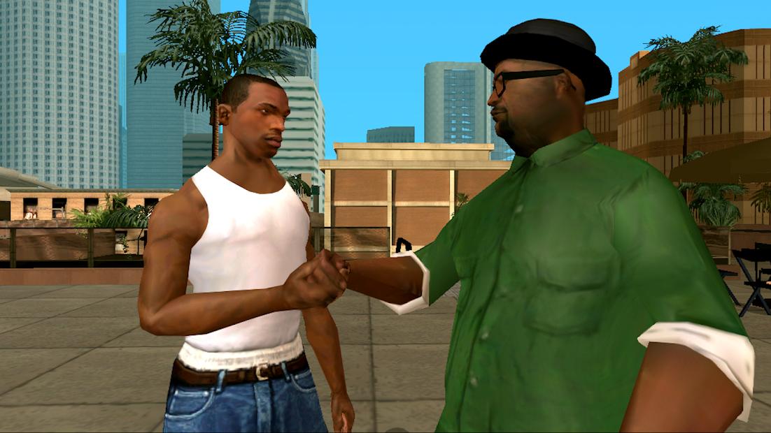 Grand Theft Auto: San Andreas Android App Screenshot