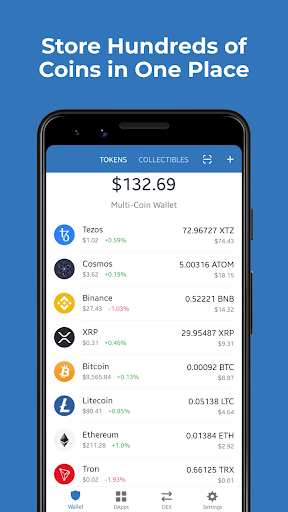 Trust Crypto Wallet: Bitcoin Ethereum Tron XRP PAX  screenshots 9