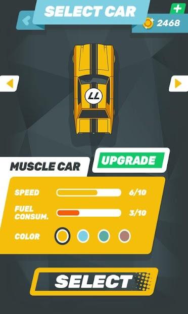 Captura 8 de carrera de coches rápida tiroteo d venganza juegos para android