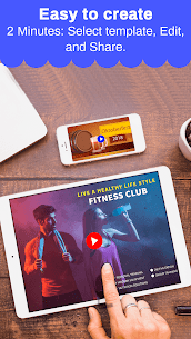Marketing Video Maker, Slideshow Creator, Ad Maker MOD (Pro) 3