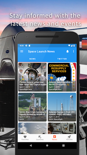 Space Launch Now - Watch SpaceX, NASA, etc...live! apktram screenshots 5