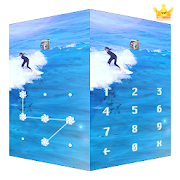 AppLock Live Theme Surfing – Paid Theme