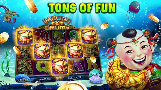 Machines à sous Gold Fish Casino - Jeux de machines à sous GRATUITS