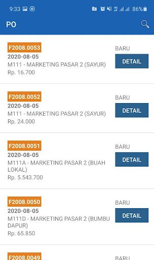 PO Online Maju Bersama [ Supplier ] 2.3.9 screenshots 6