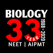 BIOLOGY - 33 YEAR NEET PAST PAPER WITH SOLUTION
