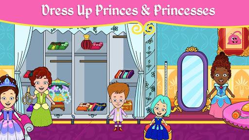 My Tizi Princess Town - Doll House Castle Game 2.1 Screenshots 4